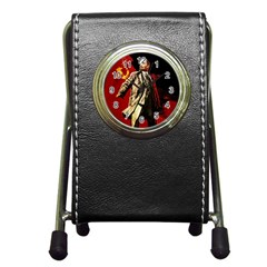 Lenin  Pen Holder Desk Clocks