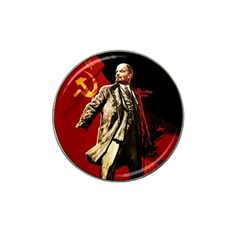 Lenin  Hat Clip Ball Marker (4 Pack)
