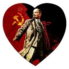 Lenin  Jigsaw Puzzle (heart)