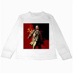 Lenin  Kids Long Sleeve T Shirts