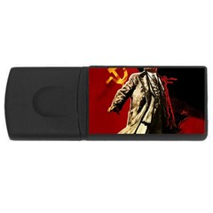 Lenin  Rectangular Usb Flash Drive