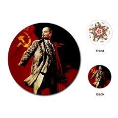 Lenin  Playing Cards (round)