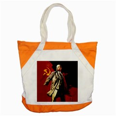 Lenin  Accent Tote Bag