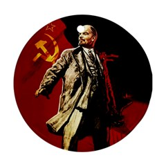 Lenin  Round Ornament (two Sides)