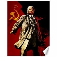 Lenin  Canvas 12  X 16