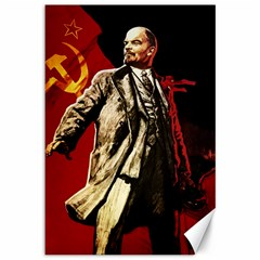 Lenin  Canvas 12  X 18