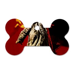 Lenin  Dog Tag Bone (two Sides)