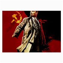 Lenin  Large Glasses Cloth