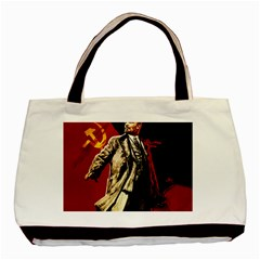 Lenin  Basic Tote Bag (two Sides)