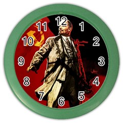 Lenin  Color Wall Clocks