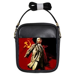 Lenin  Girls Sling Bags