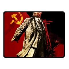 Lenin  Fleece Blanket (small)