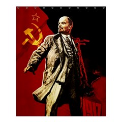 Lenin  Shower Curtain 60  X 72  (medium)