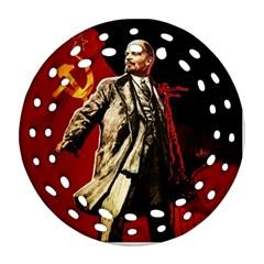 Lenin  Ornament (round Filigree)