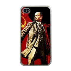 Lenin  Apple Iphone 4 Case (clear)