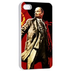 Lenin  Apple Iphone 4/4s Seamless Case (white)