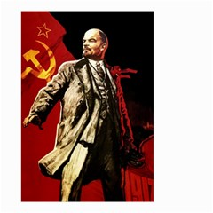 Lenin  Small Garden Flag (two Sides)