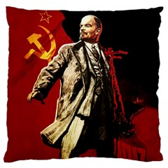 Lenin  Large Cushion Case (one Side)