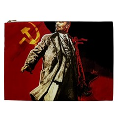 Lenin  Cosmetic Bag (xxl)
