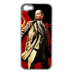 Lenin  Apple Iphone 5 Case (silver)