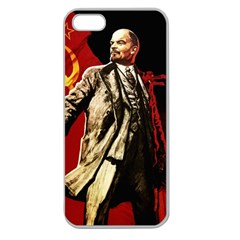 Lenin  Apple Seamless Iphone 5 Case (clear)