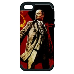 Lenin  Apple Iphone 5 Hardshell Case (pc+silicone)