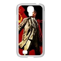 Lenin  Samsung Galaxy S4 I9500/ I9505 Case (white)