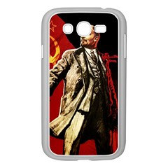Lenin  Samsung Galaxy Grand Duos I9082 Case (white)