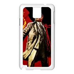 Lenin  Samsung Galaxy Note 3 N9005 Case (white)
