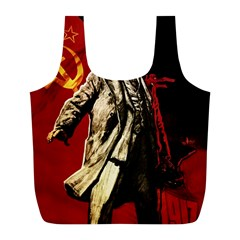 Lenin  Full Print Recycle Bags (l)