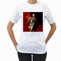 Lenin  Women s T Shirt (white)