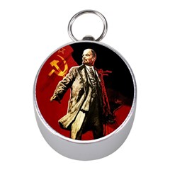 Lenin  Mini Silver Compasses