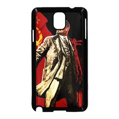 Lenin  Samsung Galaxy Note 3 Neo Hardshell Case (black)