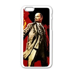 Lenin  Apple Iphone 6/6s White Enamel Case