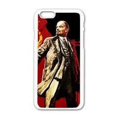 Lenin  Apple Iphone 6/6s White Enamel Case
