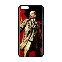 Lenin  Apple Iphone 6/6s Black Enamel Case