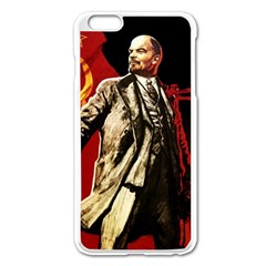 Lenin  Apple Iphone 6 Plus/6s Plus Enamel White Case