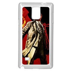 Lenin  Samsung Galaxy Note 4 Case (white)