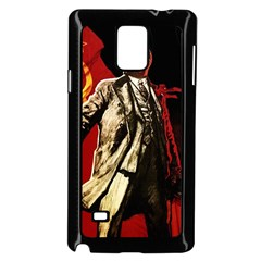 Lenin  Samsung Galaxy Note 4 Case (black)
