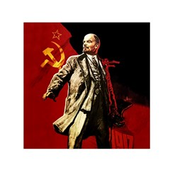 Lenin  Small Satin Scarf (square)