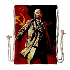 Lenin  Drawstring Bag (large)