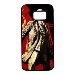 Lenin  Samsung Galaxy S7 Black Seamless Case