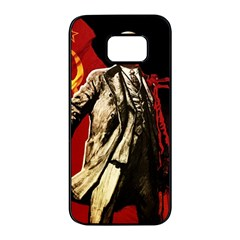 Lenin  Samsung Galaxy S7 Edge Black Seamless Case