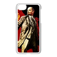 Lenin  Apple Iphone 7 Seamless Case (white)
