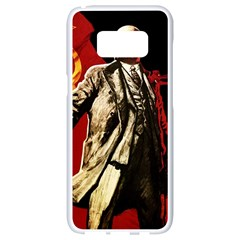 Lenin  Samsung Galaxy S8 White Seamless Case