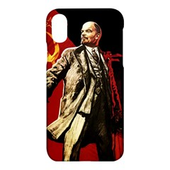 Lenin  Apple Iphone X Hardshell Case