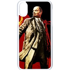 Lenin  Apple Iphone X Seamless Case (white)