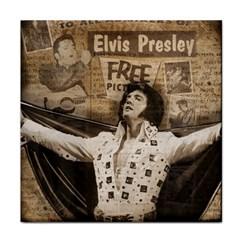 Vintage Elvis Presley Tile Coasters