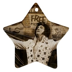 Vintage Elvis Presley Ornament (star)