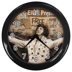 Vintage Elvis Presley Wall Clocks (black)